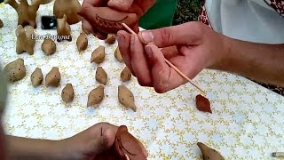 СВИСТУЛЬКА из глины DIY Поделки How to make a whistle out of clay for kids