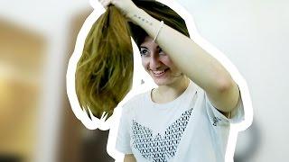 Ich schneide meine Haare ab! [Daily Vlog]
