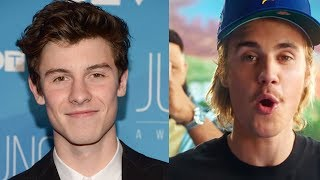 Fans Think Justin Bieber SHADED Shawn Mendes In 'No Brainer' Song