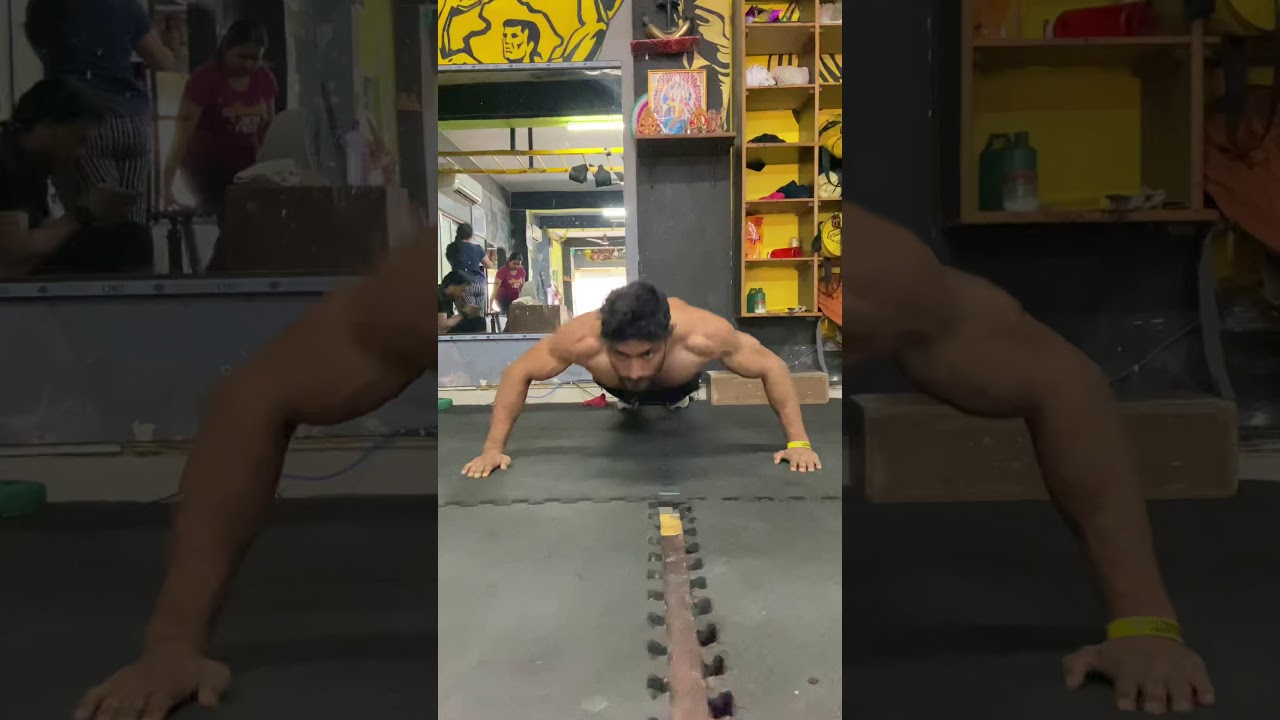 Wide To Short Distance Push Ups || Chest Workout || Fitness Motivation || HELP FITNESS