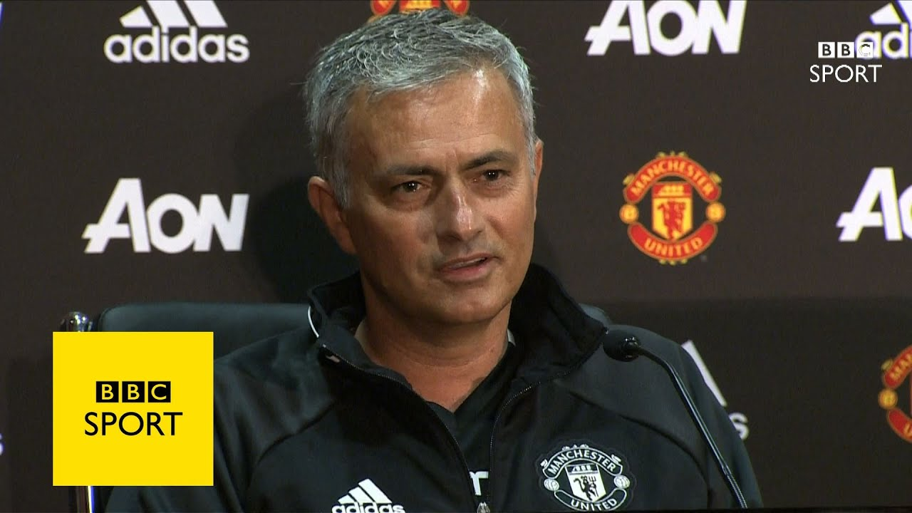 Jose Mourinho Arrives At Manchester United Bbc Sport