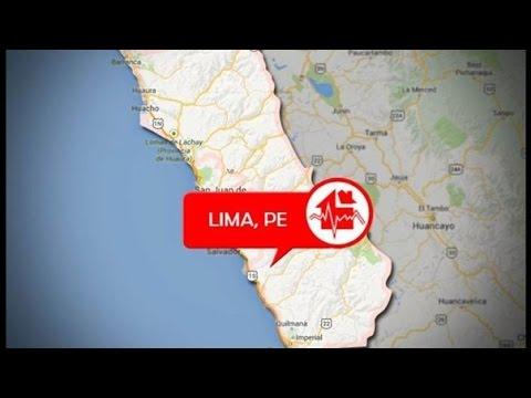 Perú advierte que un sismo de magnitud alta, podría afectar a la costa