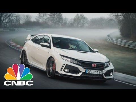2017 Honda Civic Type R Now World's Fastest FWD Car | CNBC