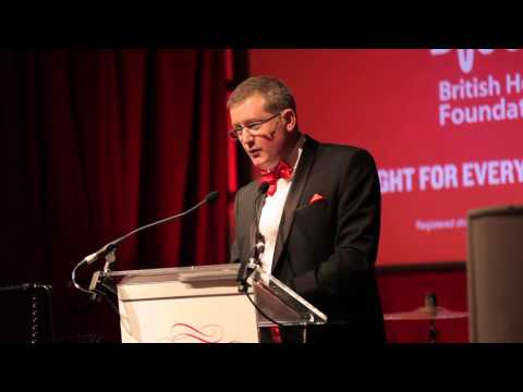 Kevin Mashford British Heart Foundation Roll Out The Red Ball Speech