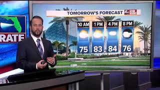 Florida's Most Accurate Forecast with Jason on October 22, 2018