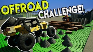 EXTREME LEGO OFFROAD RACE CHALLENGE! - Brick Rigs Gameplay Race Challenge - Lego Off Road Derby