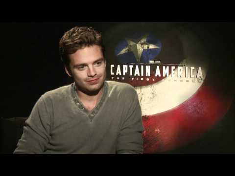 Captain America Interview With Sebastian Stan - YouTube