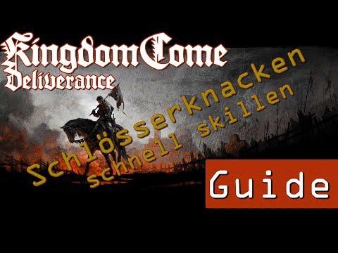 Kingdom Come Deliverance Guide || Schlösserknacken schnell skillen || German