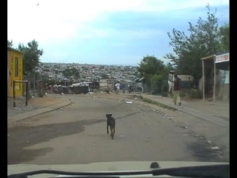 Africa - A drive through one of South Africas most dangerous neighborhoods. Diepsloot Johannesburg