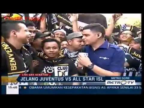 Ribuan Juventini di GBK siap Menonton Juventus vs Indonesian All Star