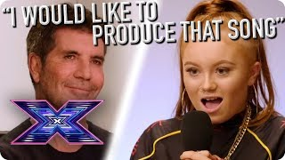 Contestant Kelli Left In SHOCK After Judges Are BLOWN AWAY By Original Audition  | X Factor Global