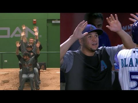 Look at some of the funniest moments from the D-backs