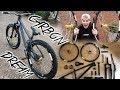 MEIN NEUES TRAUM CARBON WHEEL DIRTJUMP BIKE! Rose Bikes The Bruce X Noa Hubs Custom Build