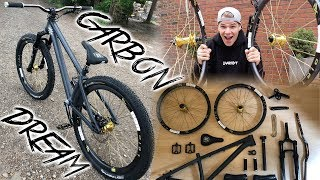 DREAM CARBON DIRTJUMP BIKE BUILD!