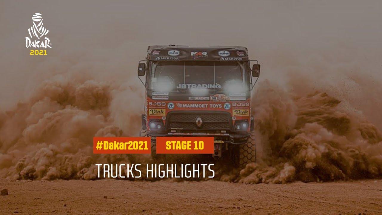 #DAKAR2021 - Stage 10 - Neom / AlUla - Truck Highlights