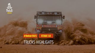 #DAKAR2021 - Stage 10 - Neom / AlUla - Truck Highlights