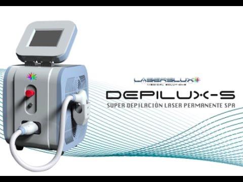 DepiLux-S | Tutorial | Equipos Laser Depilacion - YouTube