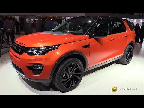2015 Land Rover Discovery Sport HSE Luxury - Exterior and Interior Walkaround - 2014 Paris Auto Show