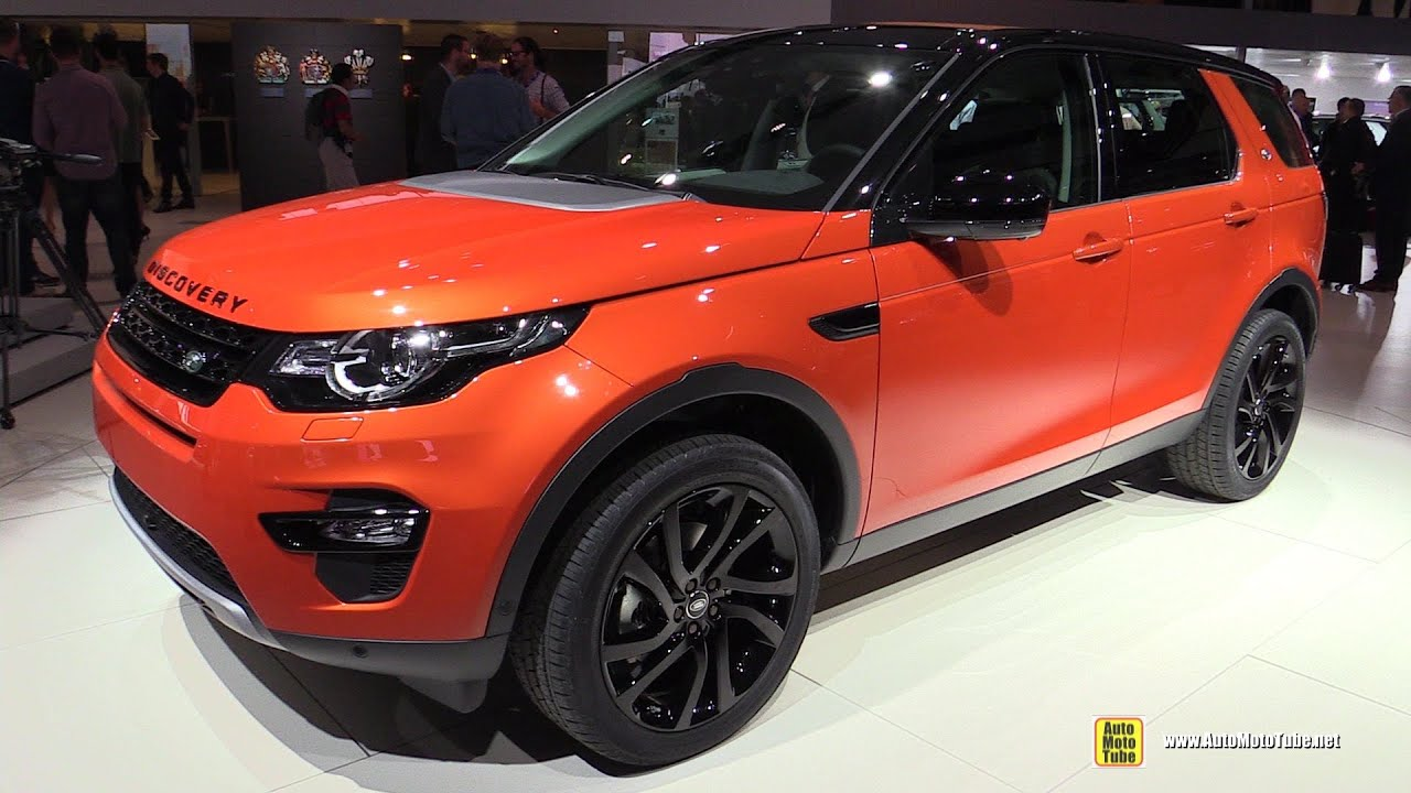 2015 land rover discovery sport hse luxury exterior and interior walkaround 2014 paris auto. Black Bedroom Furniture Sets. Home Design Ideas