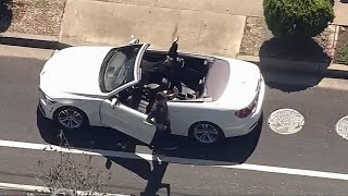 Dramatic East Bay Police Chase and Carjacking Ends with Arrest in Hayward