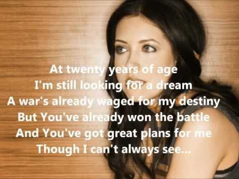 Francesca Battistelli - Free To Be Me With Lyrics