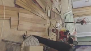 Ốp gỗ chân tường, ốp tường gỗ công nghiệp