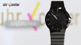 Junghans 018/1133.44 Force Herren Funk-Solar-Uhr