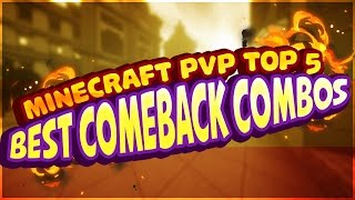 Minecraft PVP Top 5: Best Comeback Combos