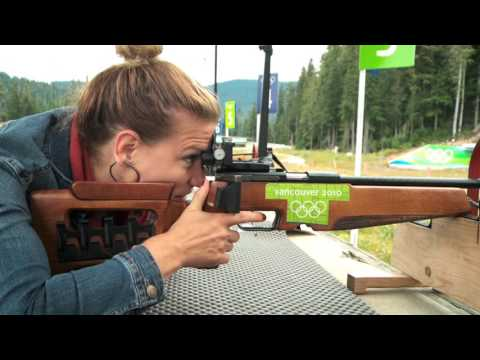 Biathlon Shooting on Shaw TV
