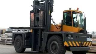 Baumann Cavaion Seitenstapler GCS 180, Sideloader handling 18 ton