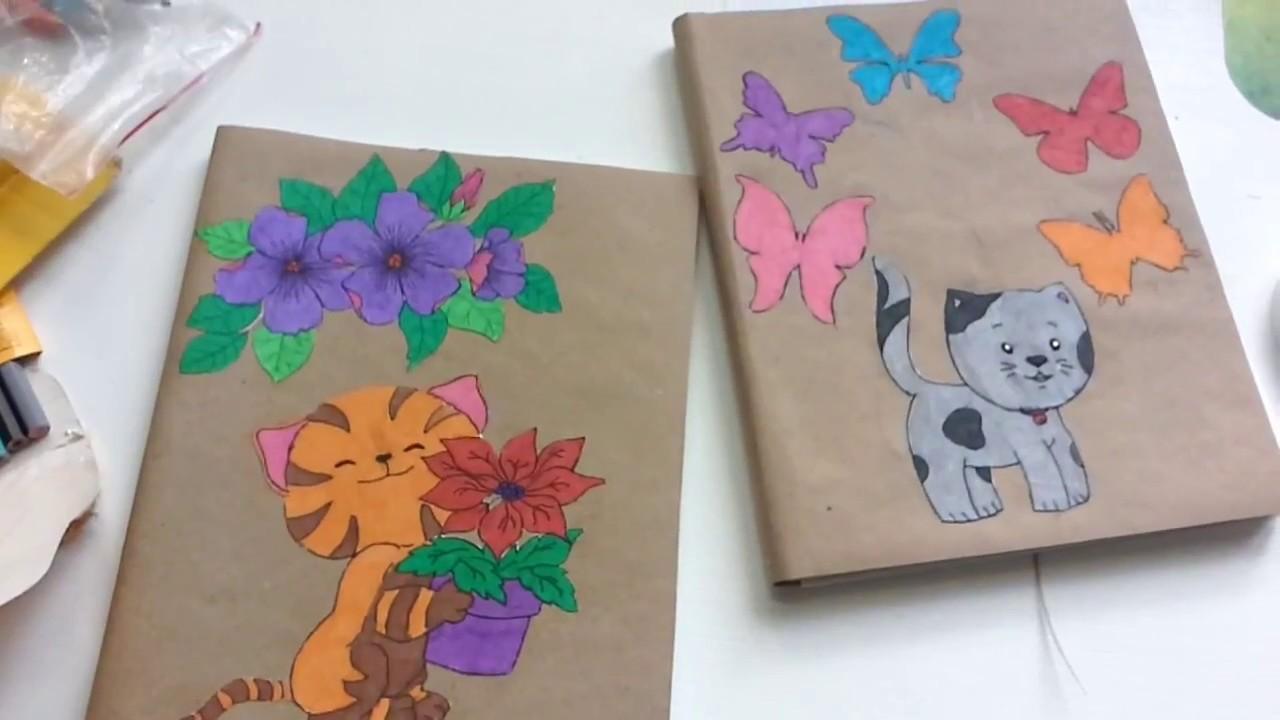 Красивые картинки для тетрадки своими руками