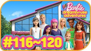 Barbie Dreamhouse Adventures #116~120 | Budge Studios | Simulation game | Pretend Play | HayDay
