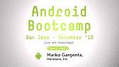 Marakana Android Tutorials - YouTube