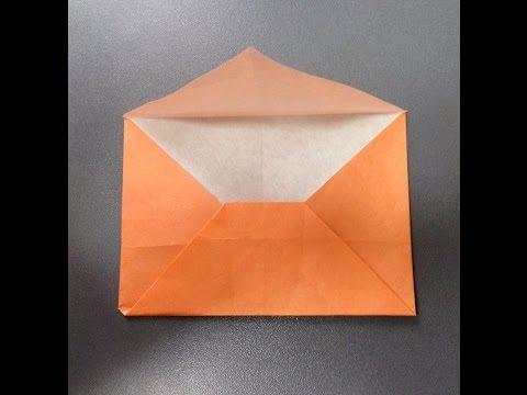 簡単 折り紙:可愛い手紙の折り方 簡単-youtube.com