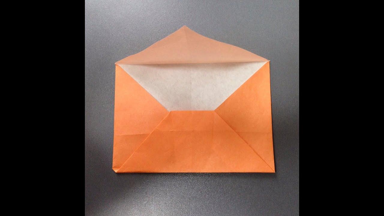 すべての折り紙 折り紙 封筒 作り方 : 折り紙 手紙 折り方 作り方 ...