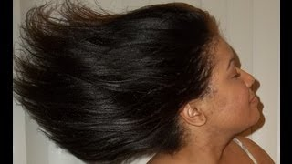 Tips for Growing THICK Relaxed Hair