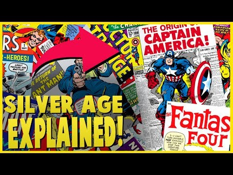 What Are The Different Ages in Comics? - The Silver Age Of Comics Explained