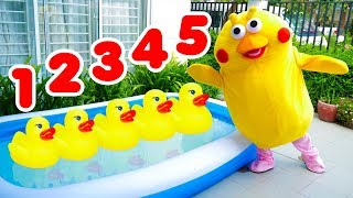 Five Little Ducks Nursery Rhyme Song for Kids