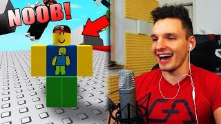 I BECAME A NOOB! (Roblox)