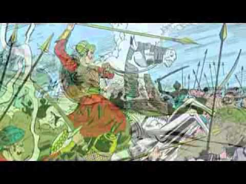 Babur story animation video