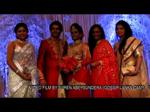 Saranga Disasekara & Umali Homecoming - Gossiplanka Video