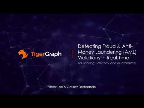 Detecting Fraud & Anti-Money Laundering (AML) Violations In Real-Time