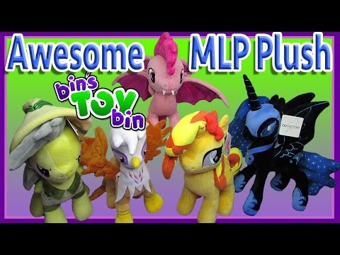 Awesome My Little Pony Plush Haul! Sunset Shimmer, Nightmare Moon, Pinkie Pie Bat! by Bin