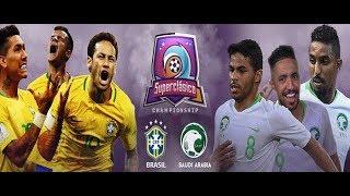 موعد مباراة منتخب السعودية والبرازيل الودية الجمعة 12-10-2018 والقناة الناقلة