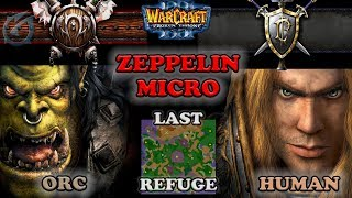 Grubby   Warcraft 3 The Frozen Throne   Orc v HU - Zeppelin Micro - Last Refuge