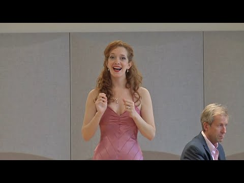 """Kathryn Parks sings """"The Light in the Piazza"""""""