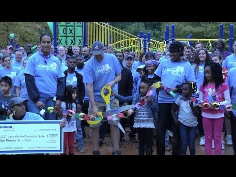 Volunteers Build Playground in 6 Hours