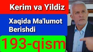 Qora Niyat 193 qism uzbek tilida turk filim кора ният 193 кисм