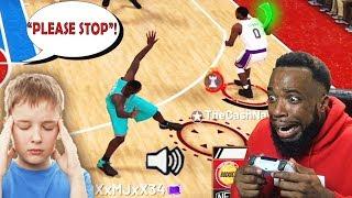 FASTEST SHOT RELEASE MAKES KID BEG FOR MERCY!! NBA 2K19 MyTeam