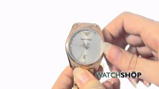 emporio armani ladies watch ar6065